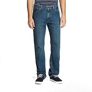 Wrangler Men's Regular Fit Jean with Flex Denim