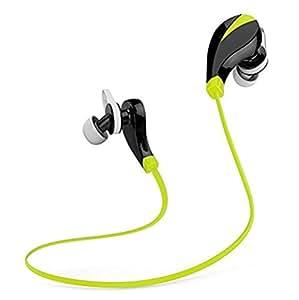 Bluetooth Headphone - Mini on Ear Wireless Anti Sweat Sports Headset Noise Reduction Headphone with Microphone