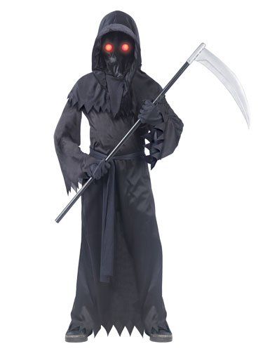Boy Scary Costumes - Grim Reaper Fade in/Out Unknown Phantom