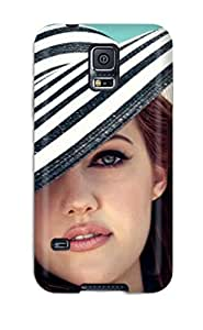 Defender Case For Galaxy S5, Women Redheads People Women Pattern