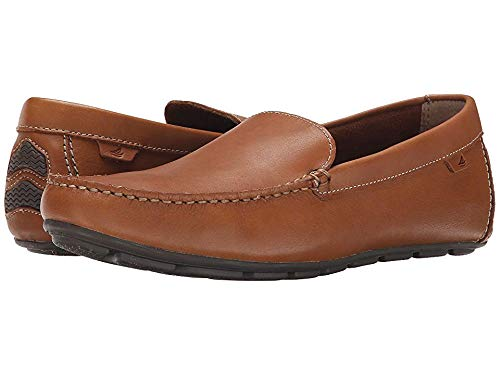 (SPERRY Men's Wave Driver Venetian Loafer, Tan, 7)