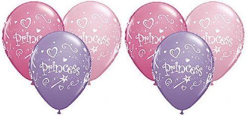 PRINCESS Wand Heart Tiara Pink and Purple (6) 11