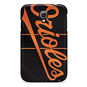 CassidyMunro Galaxy S4 Scratch Protection Mobile Covers Allow Personal Design Stylish Baltimore Orioles Pattern [QwW273xdPX]