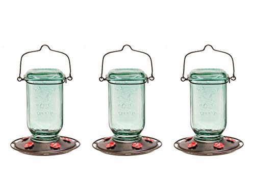 More Birds Hummingbird Feeder, Glass Hummingbird Feeders, 5