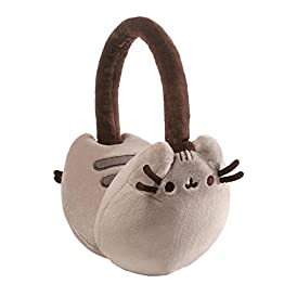 Pusheen Earmuffs | Gray - 8 Inch | Kawaii Accessories 6
