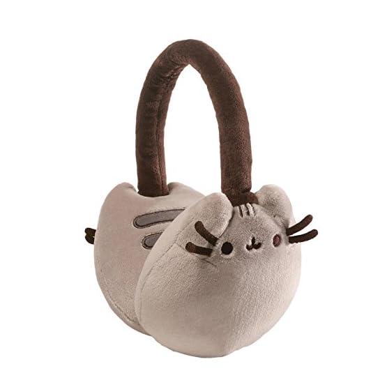 Pusheen Earmuffs | Gray - 8 Inch | Kawaii Accessories 1