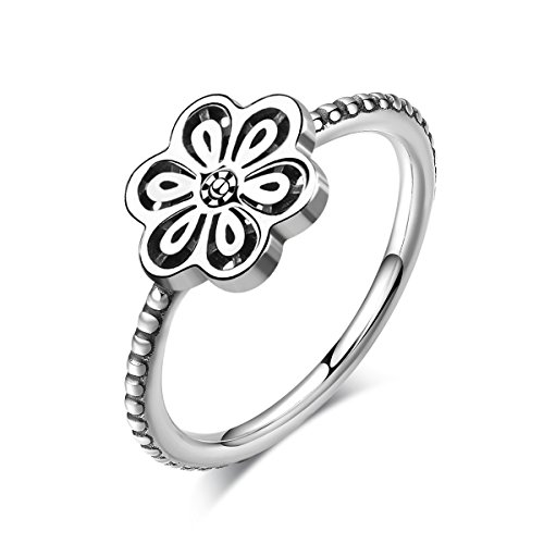 Twenty Plus Hollow Floral Daisy Lace Finger Ring Gifts For Girls & Women -