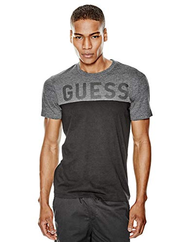 GUESS Factory Men's Rendo Logo Color-Block Tee for sale  Delivered anywhere in USA