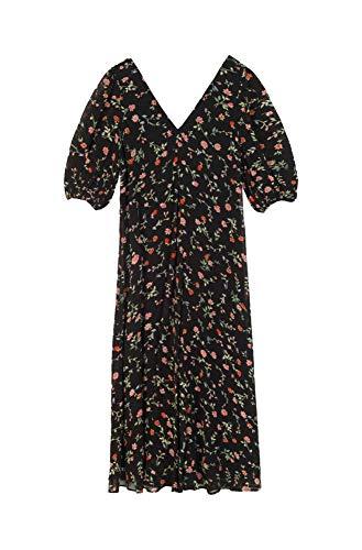Ganni Women's F3177099black Black Viscose Dress from Ganni