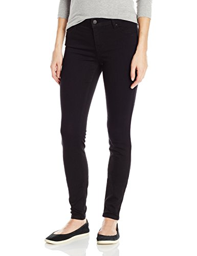 Celebrity Pink Jeans Women's Infinite Stretch Mid Rise Skinny Jean, Black Rinse, 13