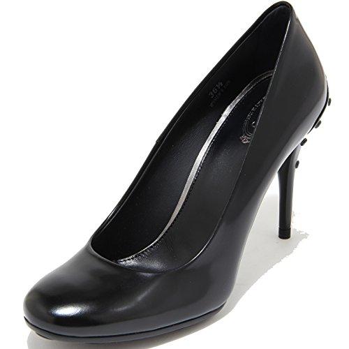 T105 Nero 80516 Shoes Decollete Gomma Donna Women SH Nero Tod's Scarpa wI6Hqp