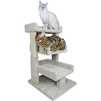 Amazon Com New Cat Condos 110215 Large Cat Play Perch