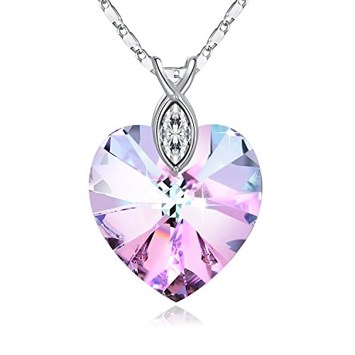 Swarovski Necklace Braveheart Crystals Birthstone