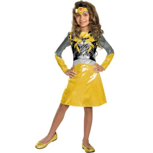 Bumblebee Girl Classic Costume - Small (4-6x) by Disguise