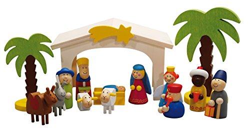 Weihnachtskrippe Spielkrippe Weihnachten Krippe Drei Könige