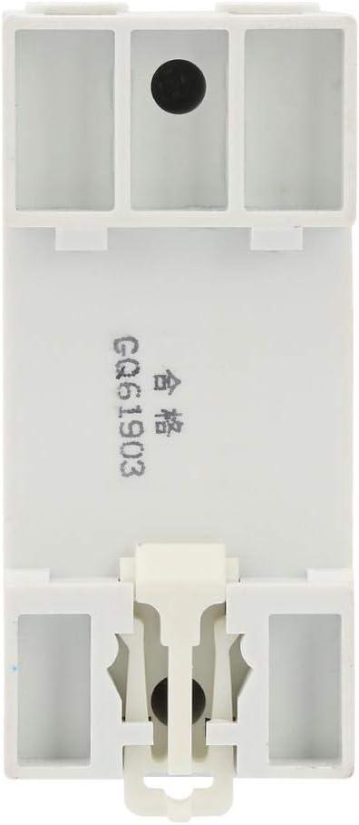 und Unterspannungsschutz Ger/ät mit Spannungsanzeige und Kontrollleuchte DIN-Schienenhalterung Schutzger/ät 230 V 40 A automatische R/ückgewinnung /Überspannungs