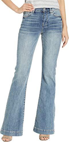 (7 For All Mankind Women's B(Air) Dojo Jeans in Fortune Fortune 28 33)
