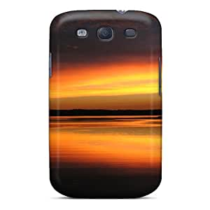 Durable Minnesota Sunset Back Case/cover For Galaxy S3