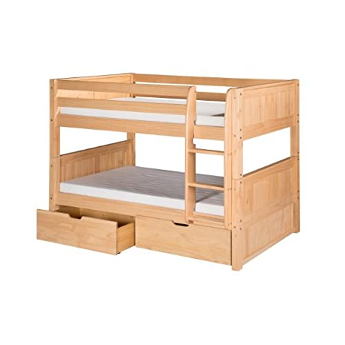 Low Bunk Beds Amazoncom