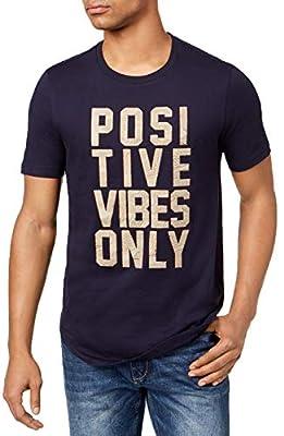 Sean John Men's Graphic-Print T-Shirt. Positive Vibes Only