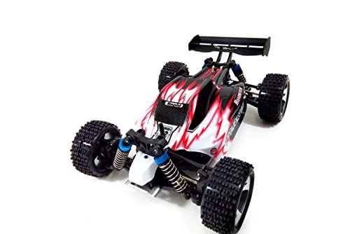 WL Toys 4WD Off-Road Buggy RC Car (Red)