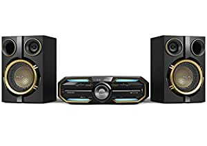 Philips FX25 - Microcadena Hi-Fi con Bluetooth y NFC (MP3, MP3-CD, USB con conexión de televisor)