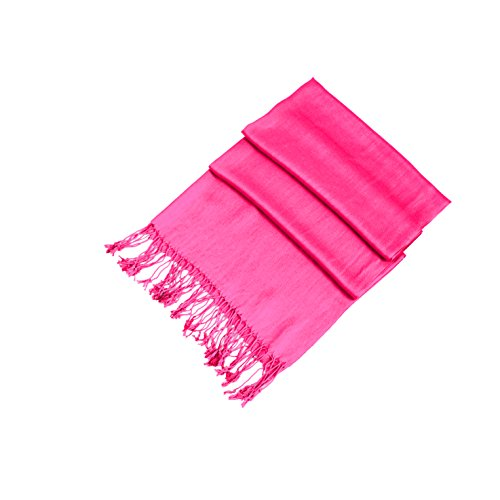 Sakkas Silky Solid Soft Pashmina Shawl Wrap Stole