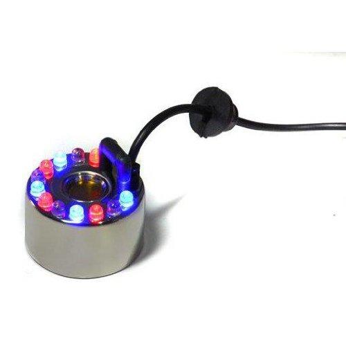 Nébuliseur ultra-sons à 12 leds NoName Relaxdays 594146