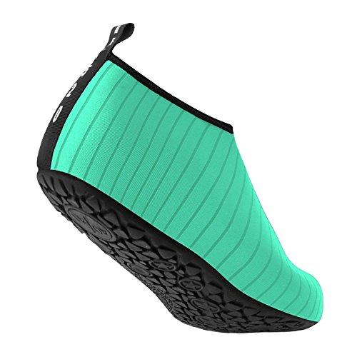 da Donna Uomo Sport Antiscivolo Unisex Leggere Yoga Scoglio Bravover Uomo Verde Donna Immersione per Scarpe Scarpe Scarpe da qAItxYF