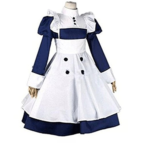 Mey Rin Cosplay Costume (Camplayco Black Butler Mey-rin Maid Uniform Cosplay Costume-made)