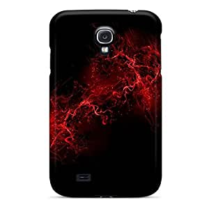 linJUN FENGCute Appearance Cover/tpu YqDbaFG457sQmFX Red Flare Case For Galaxy S4