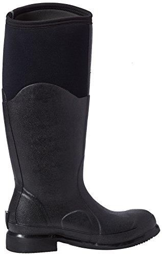 Muck Boots Damen Colt Ryder Arbeits-Gummistiefel Schwarz (Black/Black)