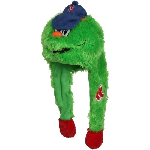 MLB Boston Red Sox Pump Action Mascot Hat, Red