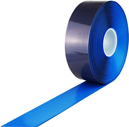 PermaStripe Blue Embossed Floor Tape -Thickness 39mils, 2-Inch x 98 Foot Roll