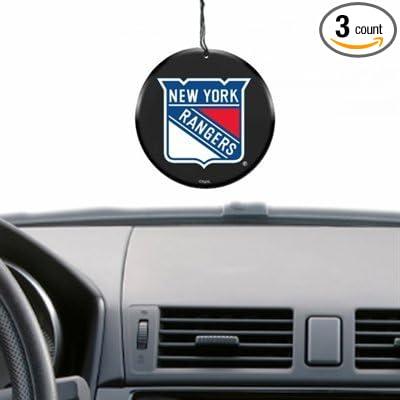 NHL New York Rangers 3 Pack Air Fresheners