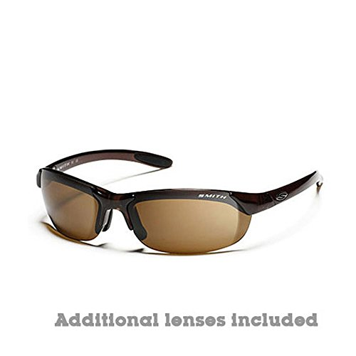 Smith Parallel Polarized Sunglasses Brown/Brown-Ignitor, One Size - - Polarized Parallel Smith