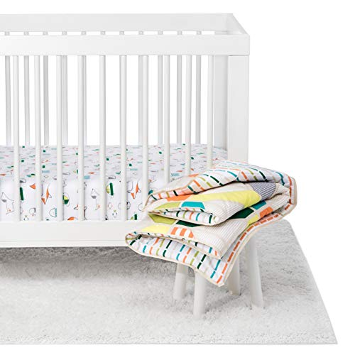 Cloud Island Crib Bedding Set Animals - Polyester, Cotton