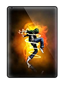 Rugged Skin Case Cover For Ipad Air- Eco-friendly Packaging(dance Cover Photos For Facebook)