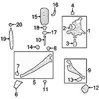 Ford, ADJUSTMENT ARM, BC2Z-3A360-B