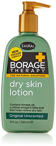 - Shikai Lotion Dry Skin Therapy, Borage, 8 Fluid Ounce