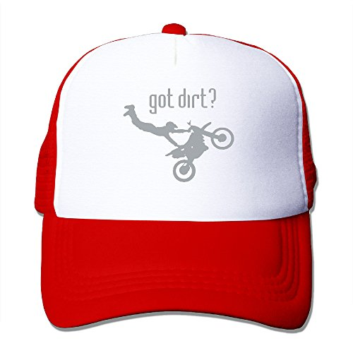 Got Dirt Bike Motorcross Racing Boy & Girl Grid Baseball Caps Adjustable Sunshade Hat Funny - Shades International Got