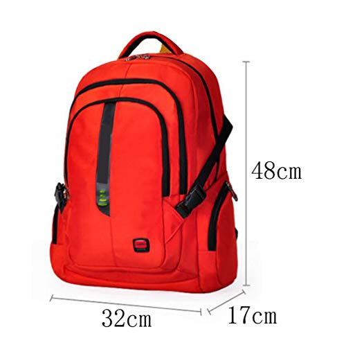 Bag Travel Package Large Capacity Leisure Dhfud Business Vibrantorange Men's Backpack 6wqTtTS