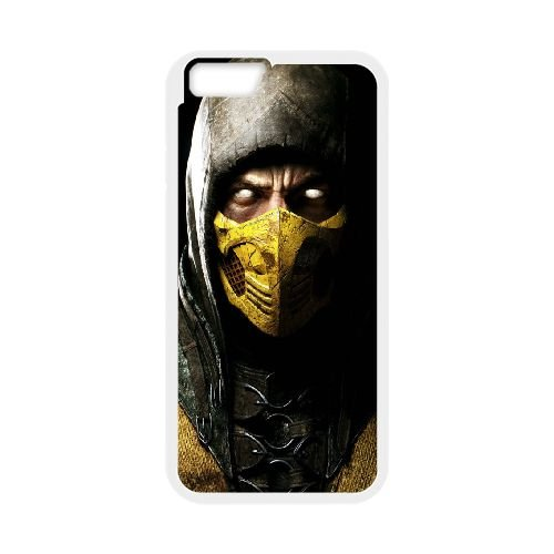 Mortal Kombat X Scorpio Ninja Mask 96591 funda iPhone 6 Plus ...
