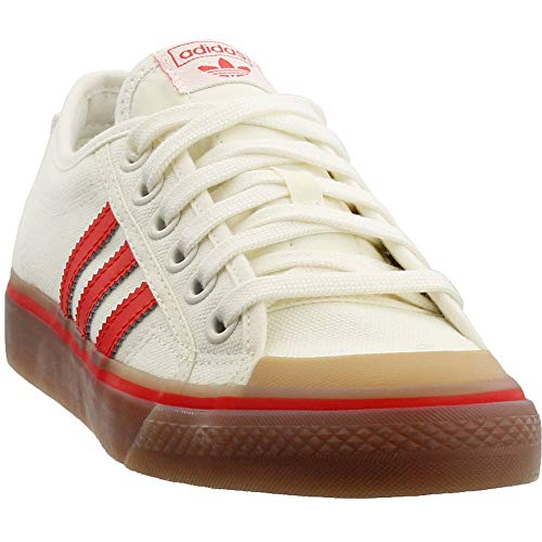 (adidas Mens Nizza Casual Shoes White 5 )