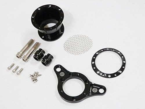 Black Velocity Stack Air Clear Filter for 1991-2014 Harley Sportster XL 883 1200