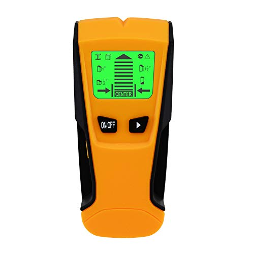 MokenEye Stud Finder AC Live Wire Metal Detector Multifunctional Wall Scanning Device With LCD Screen