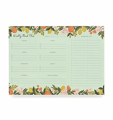 Rifle Paper - Rifle Paper Co Citrus Floral Meal Planner