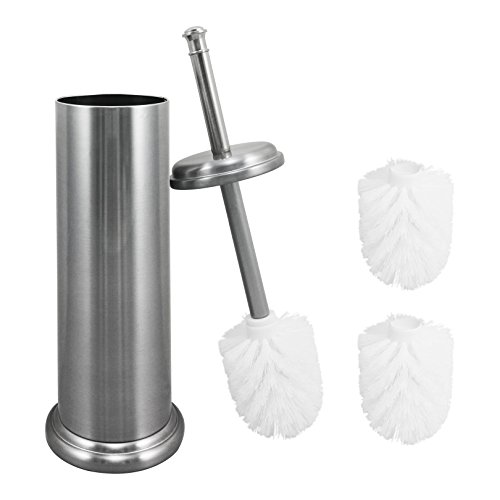 Cheap  Elegant Toilet Brush And Canister by MAYA | Now With A Metal..