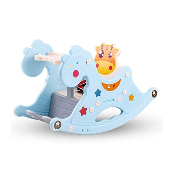 Baybee Rocker for Kids, Horse for Kids/Rocker, Baby Chair for Kids, Plastic Ride-On Toy for Indoors and Outdoors for 1