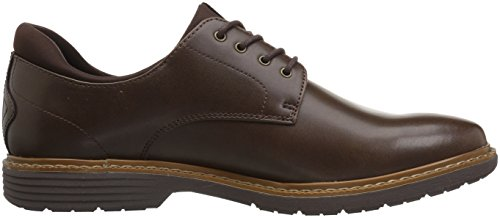 Mens Uomo Parker Oxford Marrone